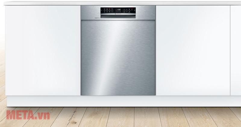 Máy rửa bát Bosch serie 6 SMU68TS02E hoạt động với độ ồn chỉ 44dB