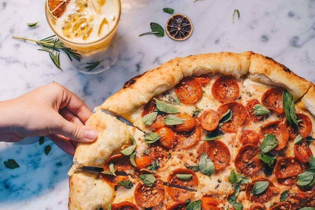 Topping của bánh pizza
