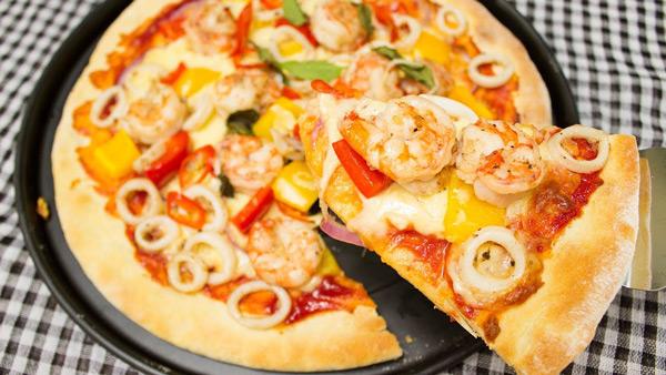Hướng dẫn cách làm pizza hải sản