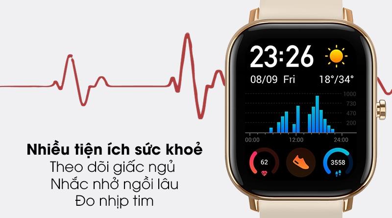 Đồng hồ thông minh theo dõi sức khỏe