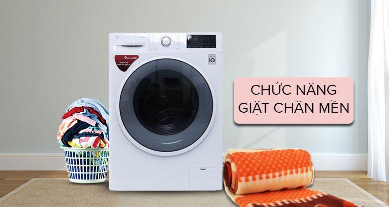 Máy giặt bao nhiêu kg thì giặt được chăn bông