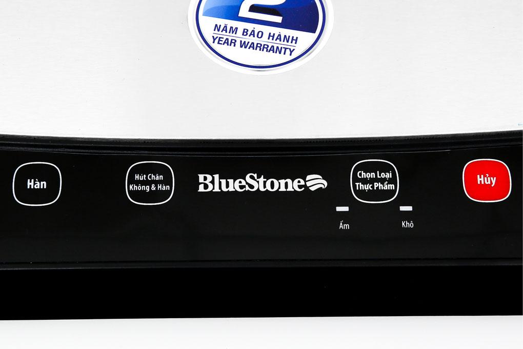 máy hút chân không và hàn miệng túi Bluestone