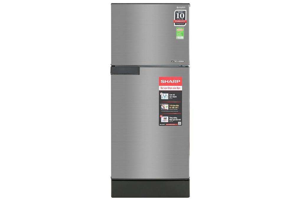 Tủ lạnh 2 cánh Inverter Sharp SJ-X176E-SL 165 lít