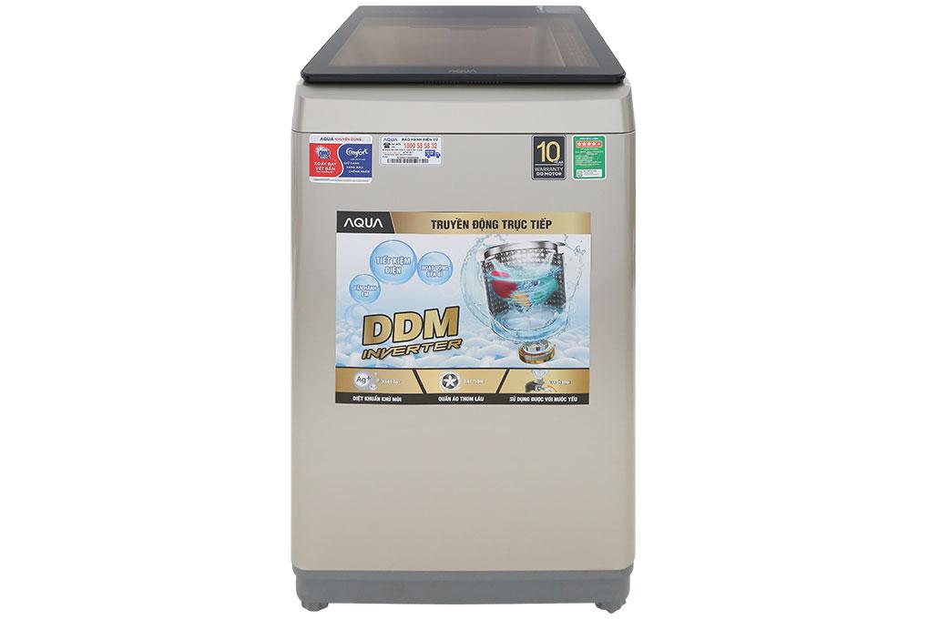Máy giặt lồng đứng Aqua Inverter 9kg AQW-D90CT(N)