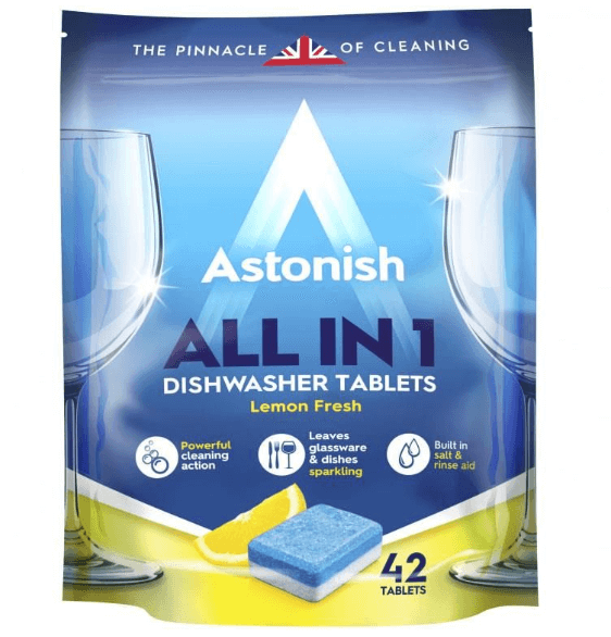 Viên rửa chén all in 1 Astonish C2170