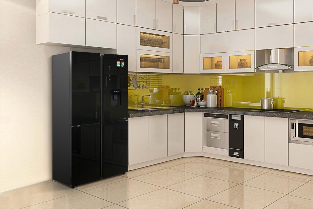 Tủ lạnh 4 cánh Aqua Inverter AQR-IGW525EM
