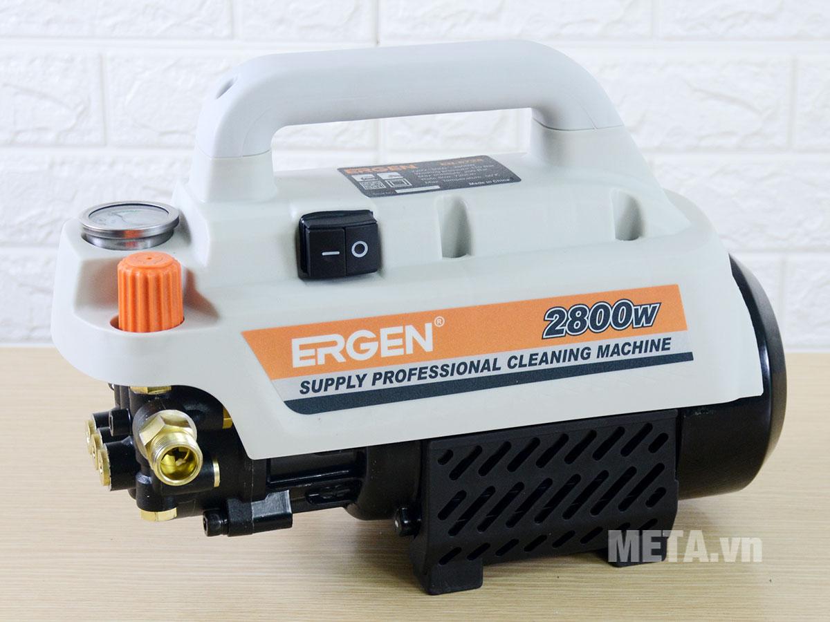Máy rửa xe Ergen EN-6728 có mô tơ từ, có khả năng hút nước