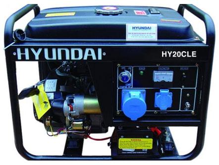 Máy phát điện chạy xăng Hyundai HY20CLE
