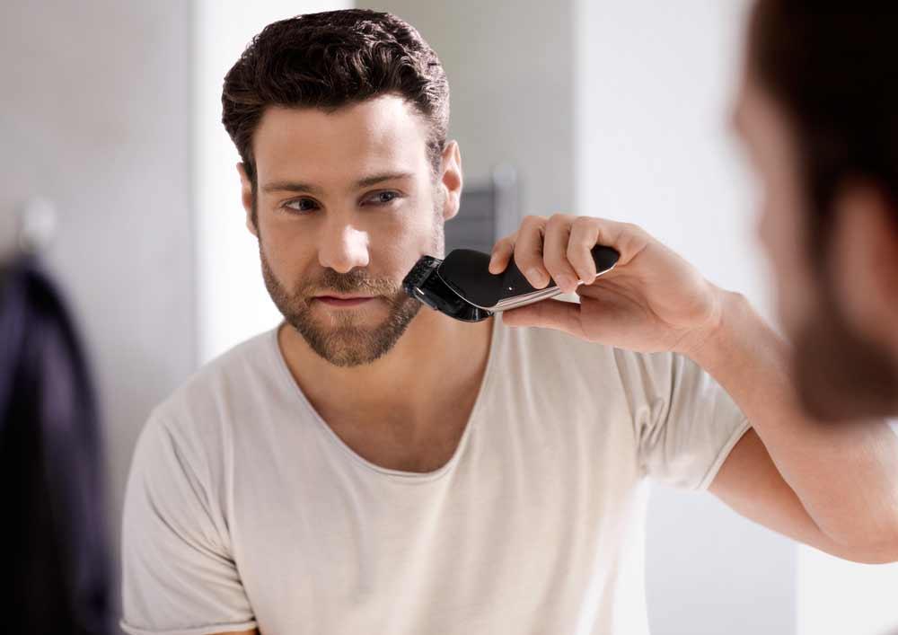 Triệt râu vĩnh viễn bằng máy triệt lông