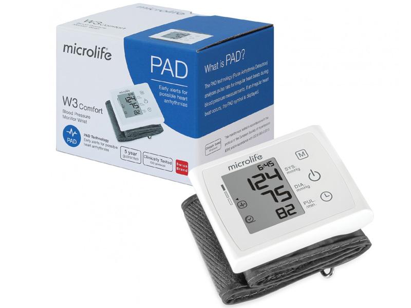 Máy đo huyết áp cổ tay Microlife BP W3 Comfort