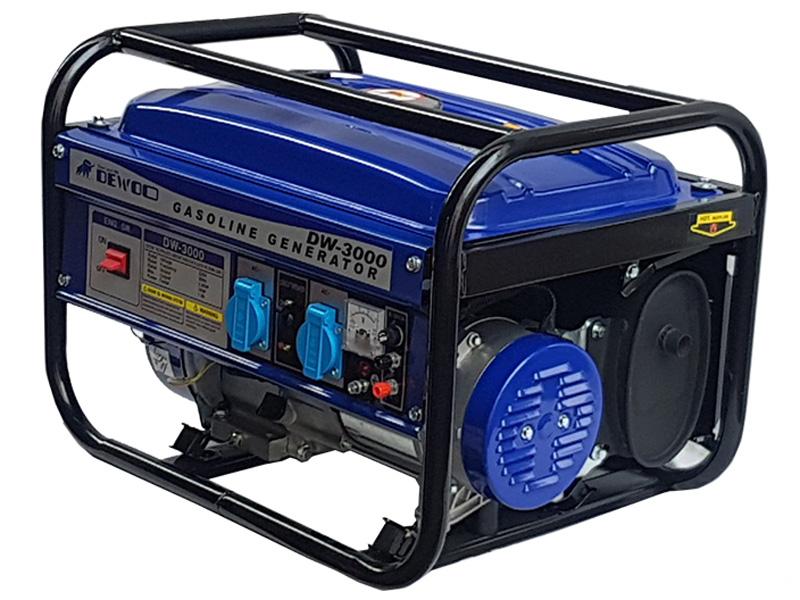 Máy phát điện chạy xăng 3KVA Dewoo DW-3000
