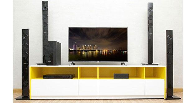 Cách kết nối loa với tivi