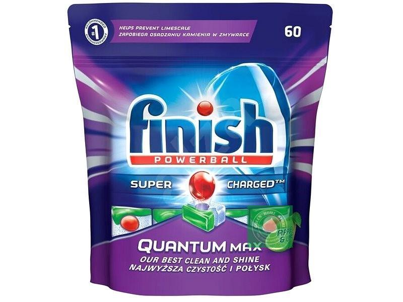 Viên rửa bát Finish Quantum Max loại 60 viên