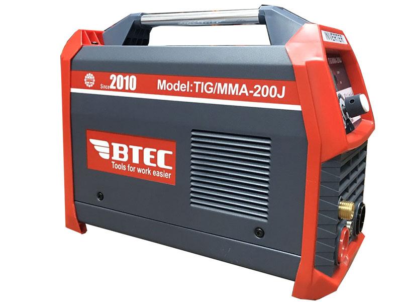 Máy hàn Tig, que BTEC TIG/MMA-200J có dòng hàn 20 - 200A
