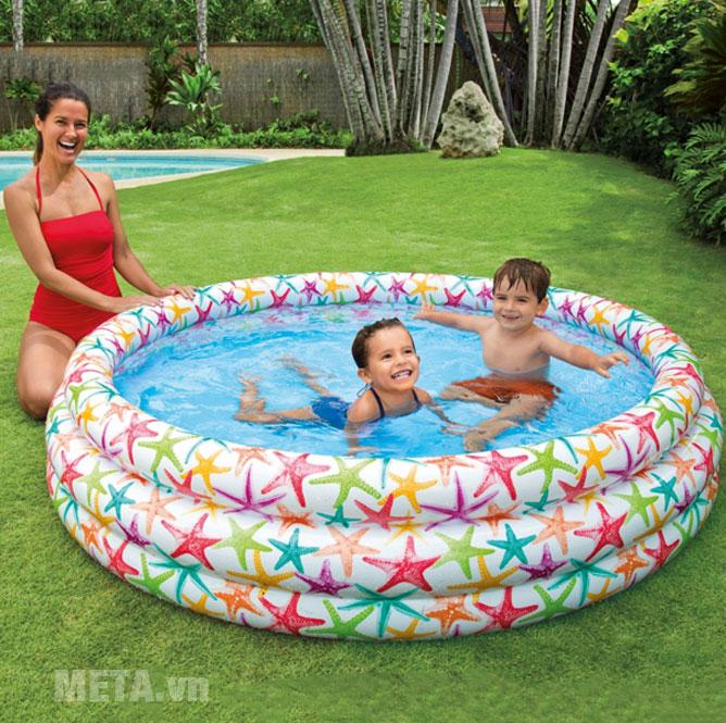 Bể bơi phao Intex 3 tầng 56440