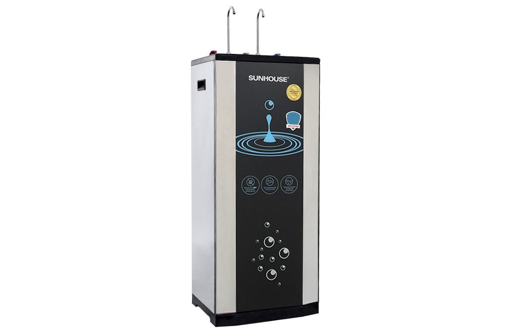 Máy lọc nước RO tích hợp nóng lạnh 10 lõi Sunhouse SHR76210CK