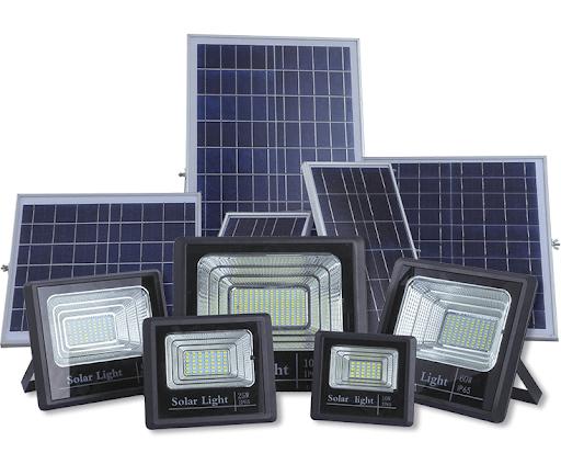 Cấu tạo và nguyên lý hoạt động của đèn pha năng lượng mặt trời