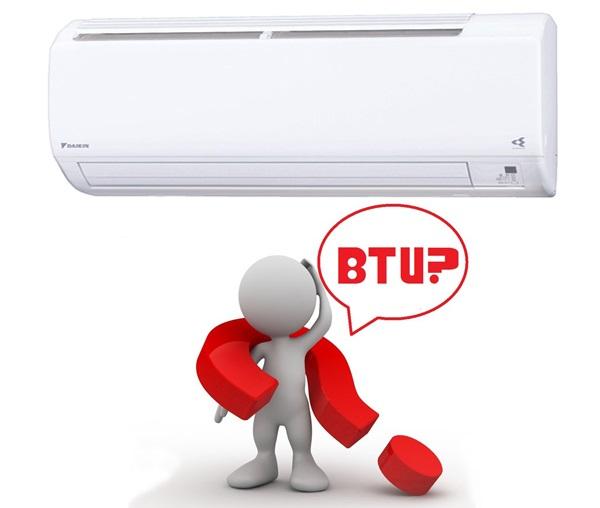 BTU - đơn vị đo công suất trên điều hòa, máy lạnh
