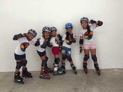 Chơi patin giúp các bé nhanh nhẹn, hoạt bát hơn