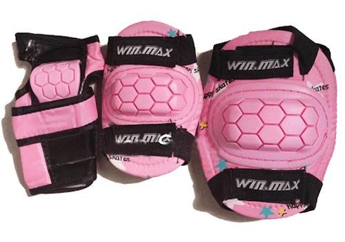 Hãy trang bị đầy đủ đồ bảo hộ cho các bé khi tập chơi patin