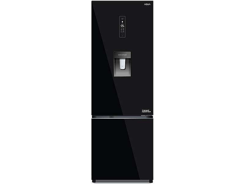 Tủ lạnh 2 cánh Aqua AQR-B379MA (WGB) 324 lít
