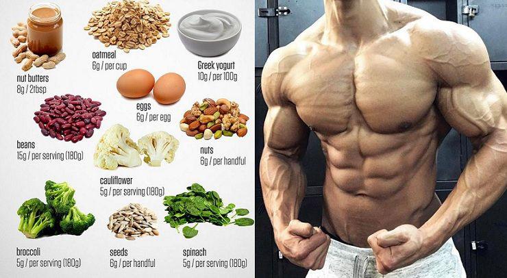 Bữa ăn dinh dưỡng giúp tăng cơ giảm mỡ