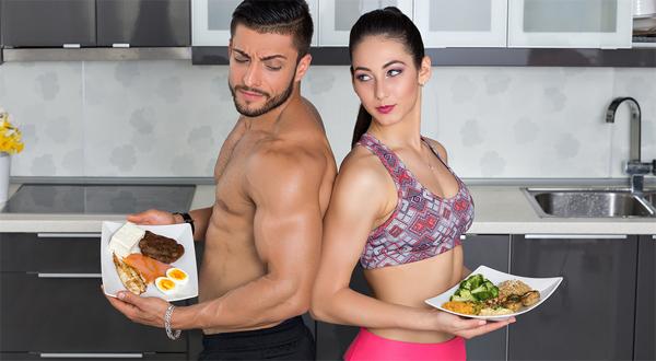 Chế độ ăn uống hợp lý mang lại vóc dáng đẹp, săn chắc cho người tập gym