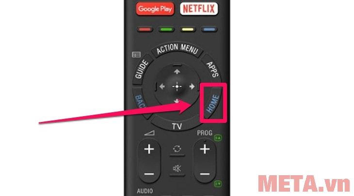 cách kết nối và đăng nhập ứng dụng FPT play trên tivi Sony