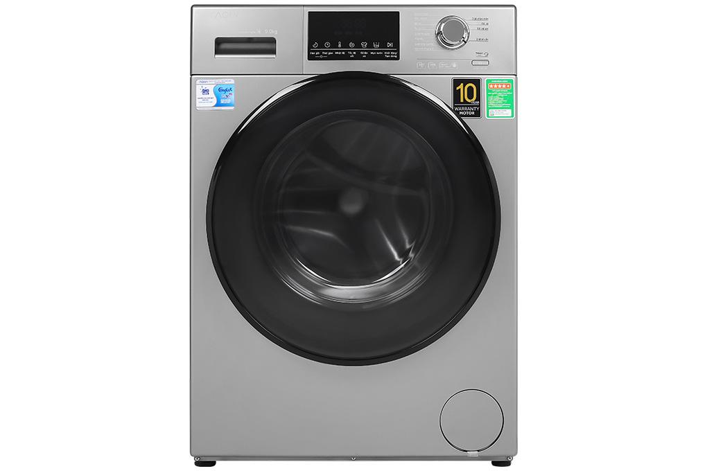 Máy giặt lồng ngang Aqua Inverter 9kg AQD-D900F.S (new 2020)