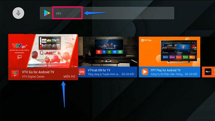 Ứng dụng xem phim online VTV Go