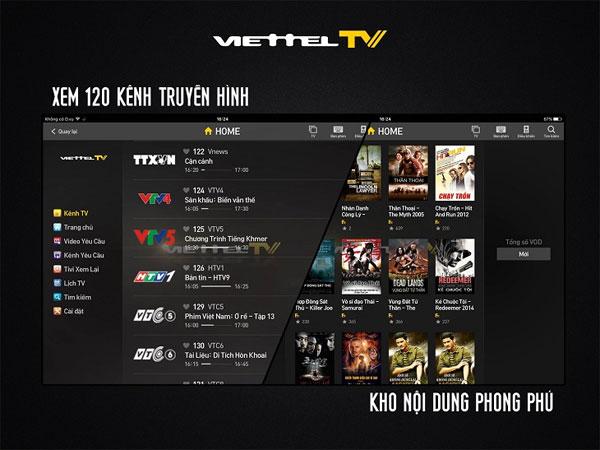 Ứng dụng ViettelTV