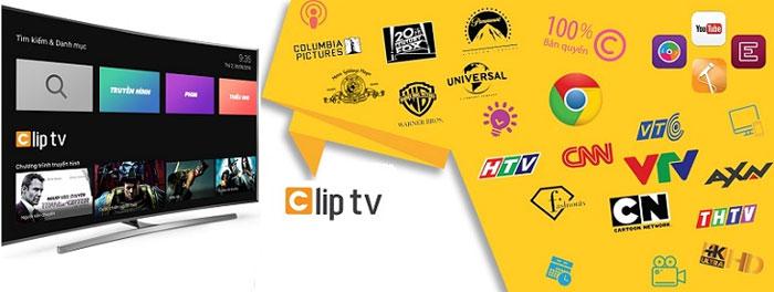 Ứng dụng xem phim Clip TV Box