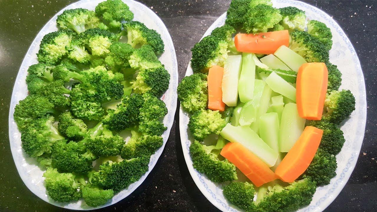 Bông cải xanh luộc