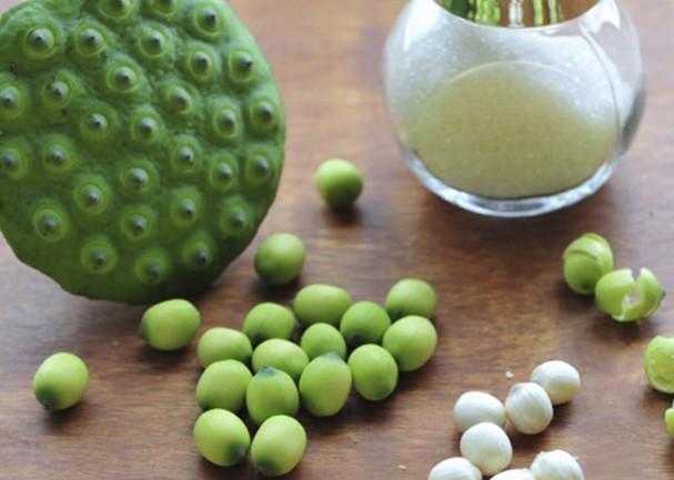 Hạt sen tươi nếu biết cách bảo quản có thể dùng được cả năm