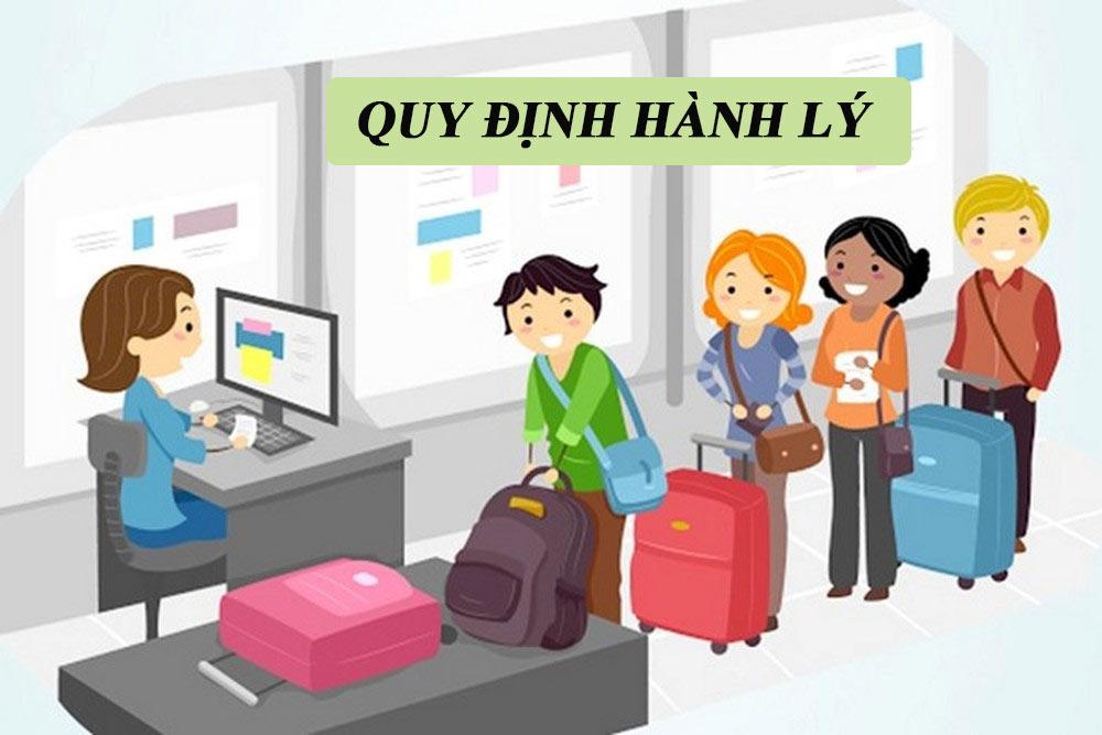 Quy định hành lý khi đi máy bay