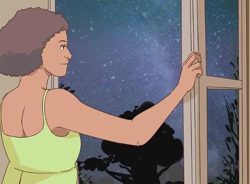 Mở cửa sổ vào ban đêm