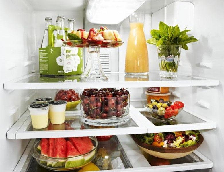 Tích trữ đồ ăn vặt trong ngăn đá
