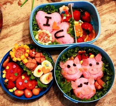 Hộp cơm Bento cho Valentine thêm ngọt ngào