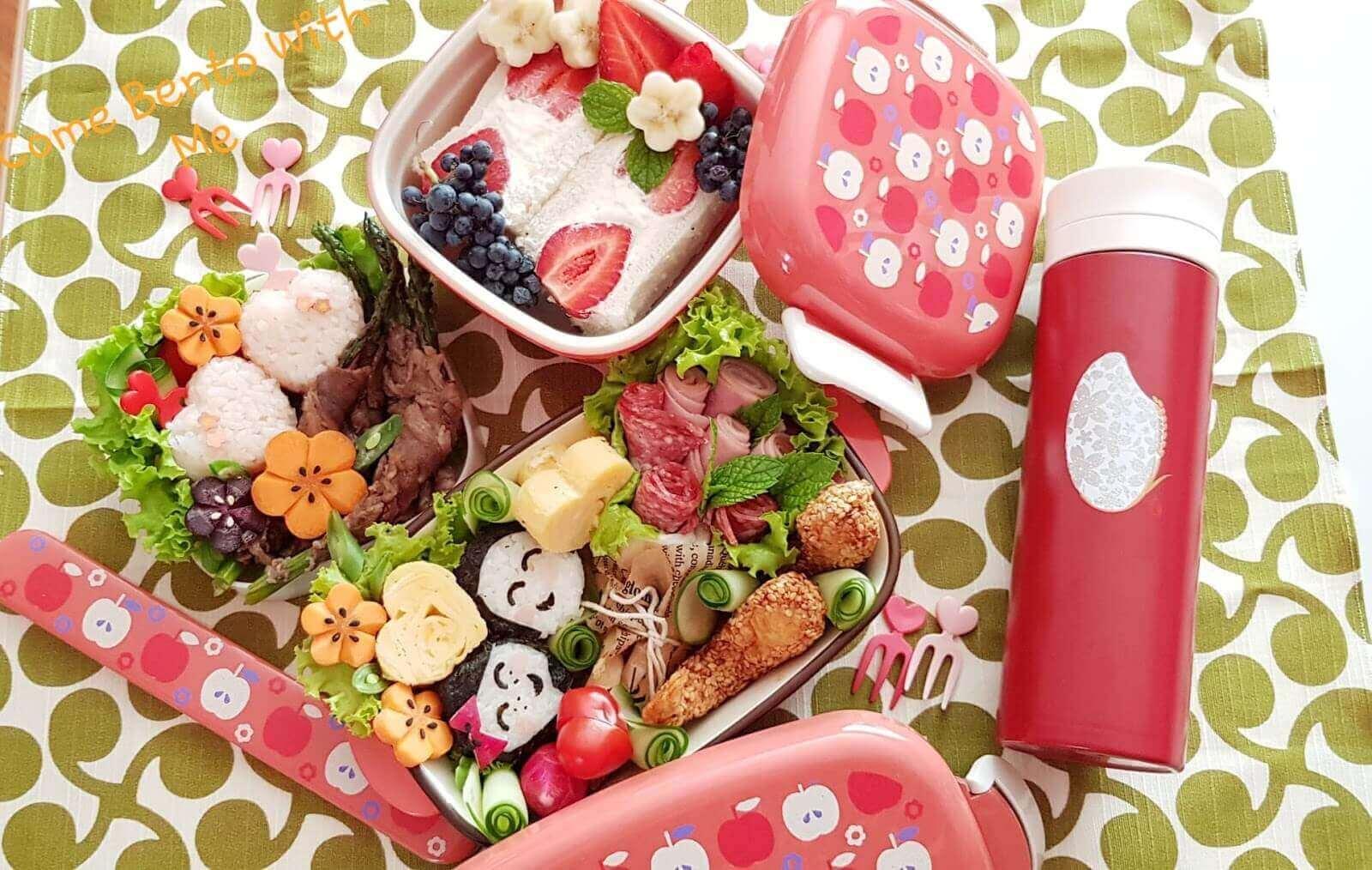 Cơm Bento cho cặp đôi mùa Valentine