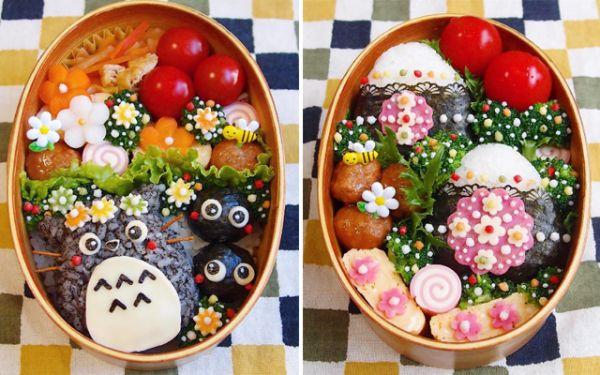 Mẫu cơm Bento Toro dễ thương cho bé