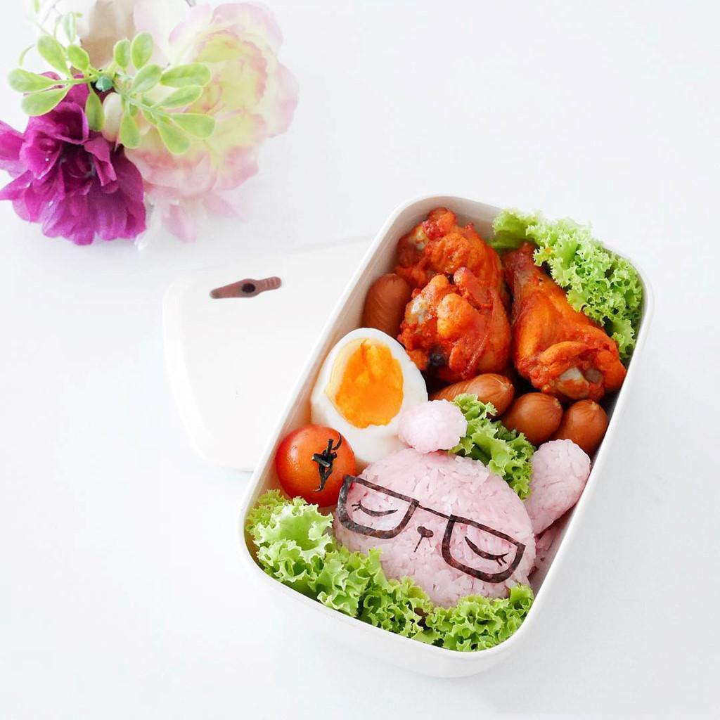 Các mẫu hộp cơm Bento cho bé, làm cực nhanh và tiết kiệm