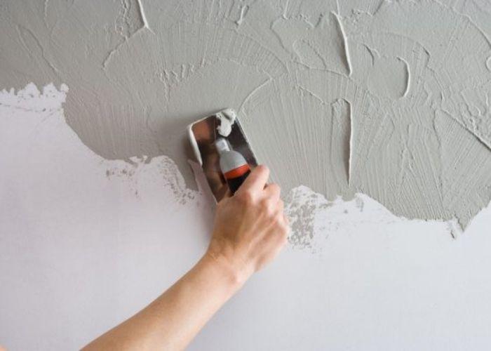 Sơn bả tương trước khi sơn màu giúp tiết kiệm chi phí, thời gian, tường đẹp, chống thấm, chống ẩm