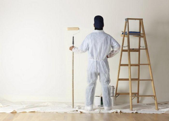 Cách bả bột trét tường không khó nhưng bạn phải làm theo đúng hướng dẫn của nhà sản xuất