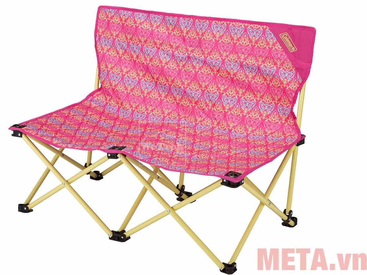 Ghế xếp đôi Coleman Fun Chair 2000022003 (Hồng)