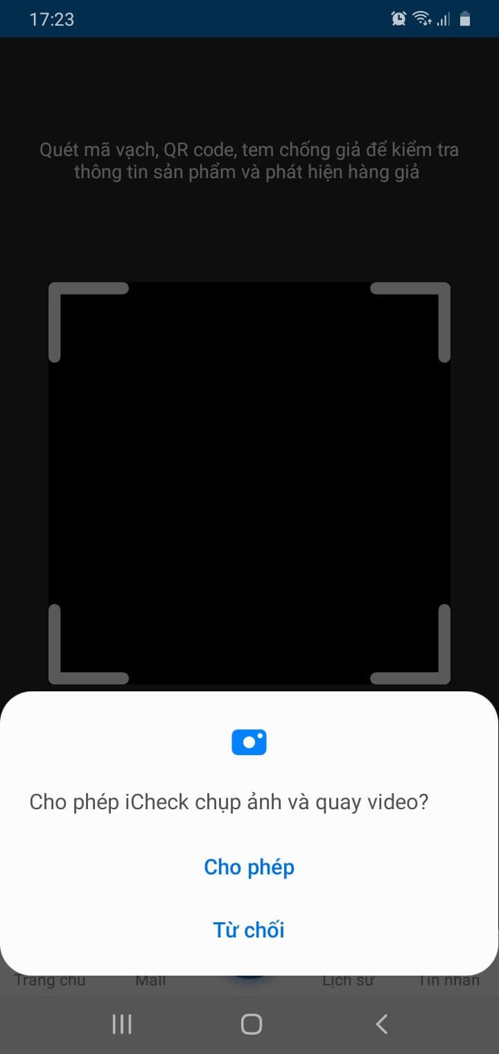 Cách quét mã QR code trên Android, iOS để truy xuất nguồn gốc sản phẩm