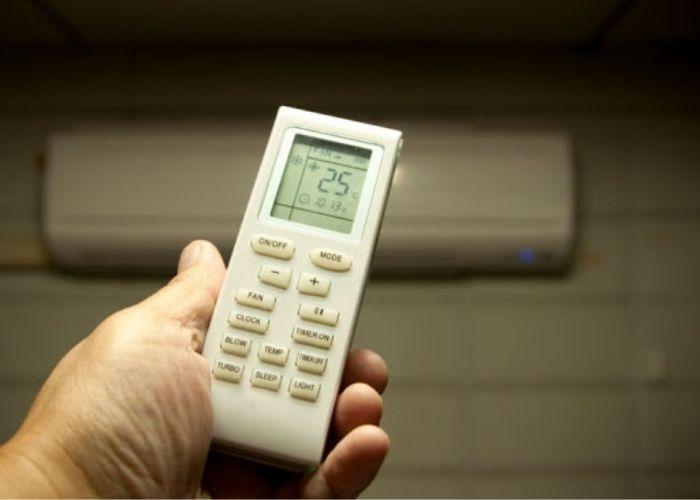 Hướng dẫn sử dụng điều khiển điều hòa Sunhouse thay đổi tốc độ gió