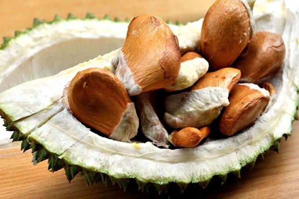 Hạt sầu riêng có ăn được không