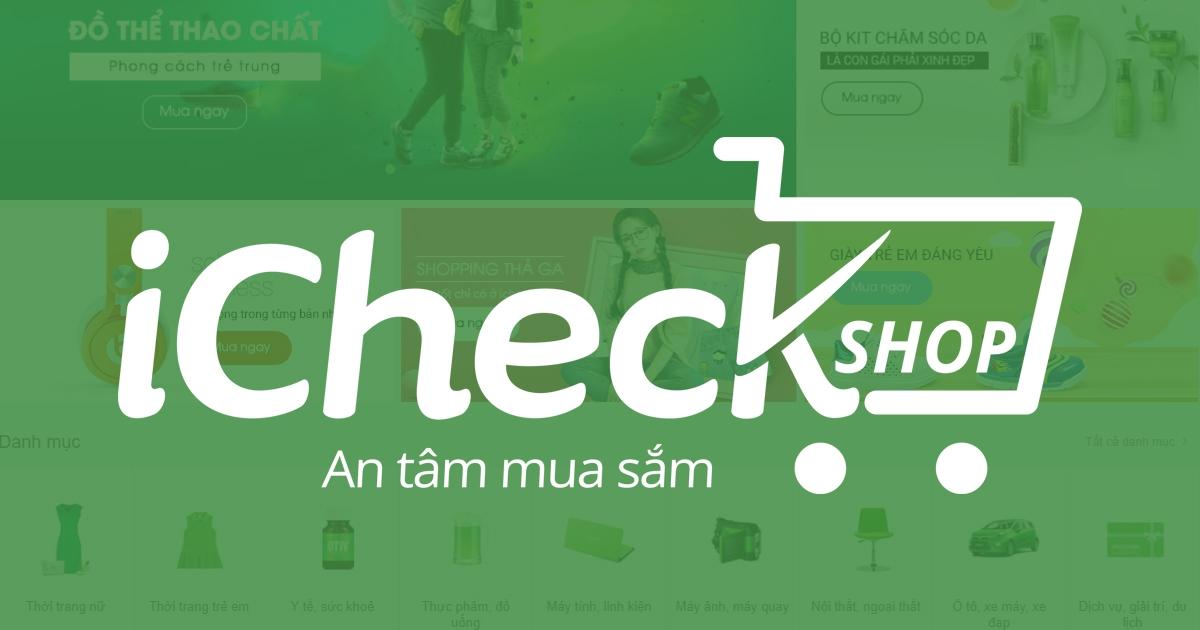 Quét mã vạch iCheck là một phần mềm kiểm tra mã vạch của Việt Nam