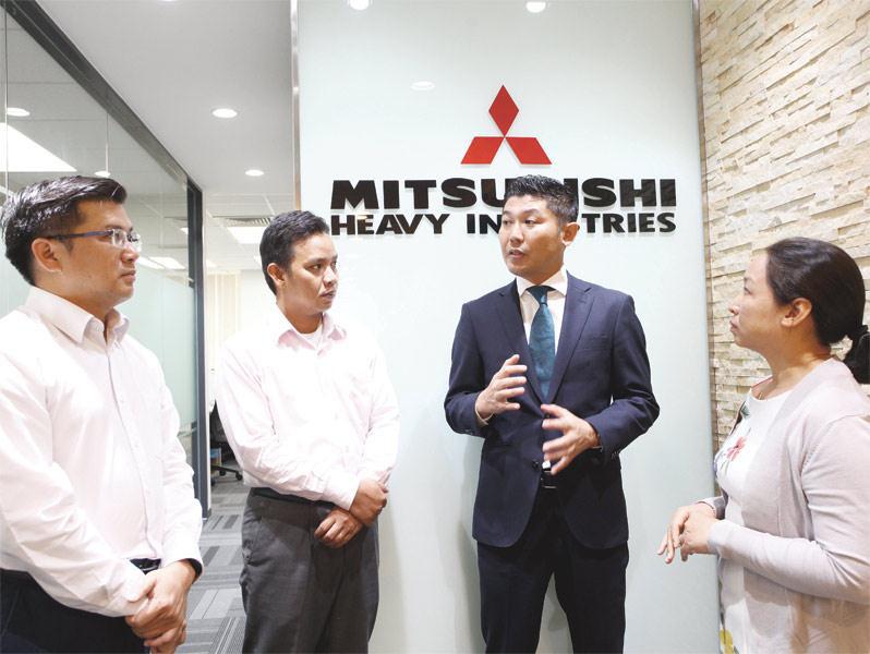 Tập đoàn Mitsubishi nổi tiếng