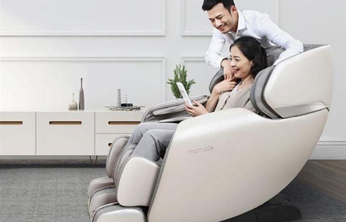 Ghế massage cũng là một món quà tặng mẹ 20 tháng 10 vừa ý nghĩa vừa thiết thực